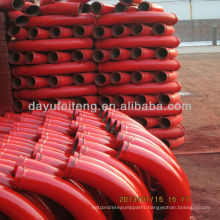 "PM/CIFA/SANY/Schwing 5.5"" 45 Degree Concrete Pump Bend"