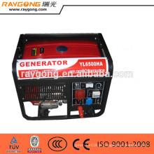 Máquina portátil do soldador do gerador da soldadura da gasolina 5kw