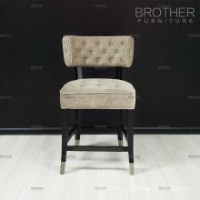 Современные мебельные ткани подушка высокий барный стул с низкой спинкой