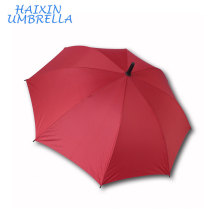 Polyester Material Promotion Men's Business High Quality Fiberglass Straight Golf Umbrella