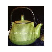 Fertigen Sie Gusseisen-Teekanne 1.0L besonders an