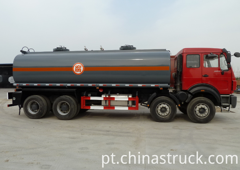 North Benz 30m3 NaOH tank semi-trailer