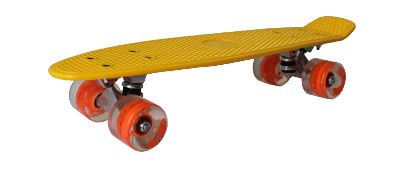 Pu Lights Wheel Skateboard
