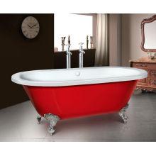 Bañera independiente barata con cuatro patas