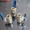 Gutentop Forged PN20 CW617n Brass Gas Valve For Natural Gas