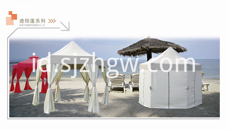 Hexagon gazebo
