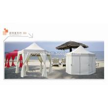 Hexagon Gazebo Shade Canopy Shelter Rain Steel Frame