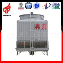 Sistema cuadrado de la torre de enfriamiento del agua 200m3 / h FRP torre de refrigeración del circuito abierto con la fabricación de la torre de enfriamiento del contador-Flujo