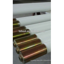 Super high temperature ceramic roller with Stainless steel sheath cap