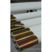 Rolo cerâmico de alta temperatura com tampa de aço inoxidável