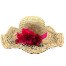 2016 straw cap with women straw cap make in china