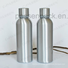 500ml Aluminum Whisky Bottle with Tamper Proof Cap (PPC-AVB-500)