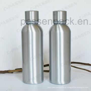 Garrafa de uísque de alumínio 500ml com tampa à prova de adulteração (PPC-AVB-500)
