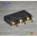 Customized Brass Pogo Pin Connector with Max 30m Ohm Contact Resistance