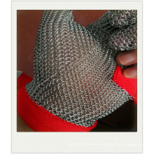 Food grade butcher stainless steel chain mail gloves