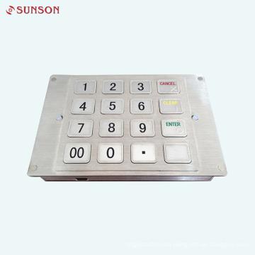 PCI Encrypting keyboard for Card Vending Kiosk Machine
