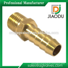 hot sale competitive price customized 1/4 inch male threaded cw617n brass barb hose fitting