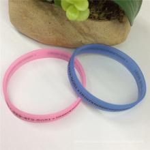 Hot Sale Fashion Bracelets Cheap Rubber Silicon Wristband