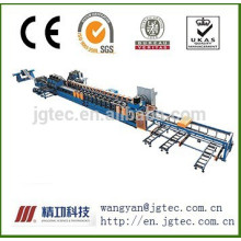 Guard rail forming line