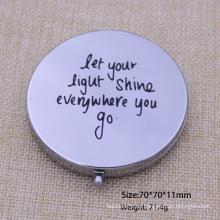 Förderung-Geschenk-kosmetischer Spiegel-Silber-Spiegel