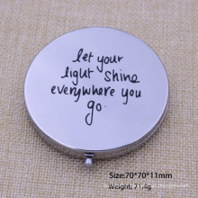 Promotion Gift Cosmetic Mirror Silver Mirror