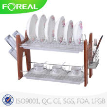Walterdrake Two-Tier Compact Dish Rack