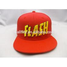 Chapeaux et chapeaux de snapback avec broderie 3D vendus au supermarché fabriqué en Chine