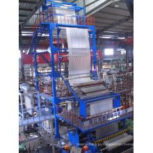 Двухслойная соэкструзионная ротационная машина для выдувной фильерной головки