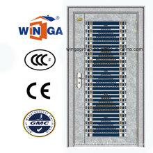 Bonne qualité en acier inoxydable Sécurité Porte métallique en fer (W-GH-29)
