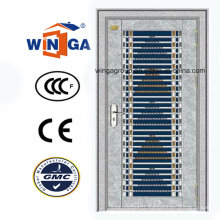 Good Price Stainlesss Steel Security Iron Metal Door (W-GH-29)