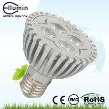par20 4w e27 aluminium conduit par lumière