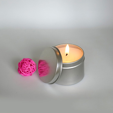 Cera de soja Mini Tin Candles em massa