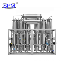 SPM Water Treatment Equipment Multi-effective Water Distiller