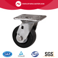 Roestvrij 4 Inch Plate Swivel Plastic Caster