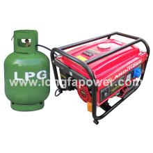2.8kw LPG / Natural Gas Generator (CE, SONCAP, CIQ, ISO9001)