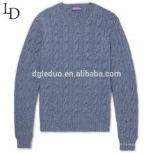 Suéter de jersey de cachemir de diseño de moda otoño e invierno para hombre