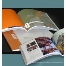 Venta caliente y alta calidad Revista / Catálogo / Folleto de impresión