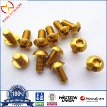 Titanium Gr2 Pan Head Screw
