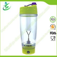 Agitador de proteína de plástico livre de 650ml, garrafa de agite de plástico