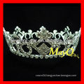 Rhinestone Full round Kings pageant crown for sale