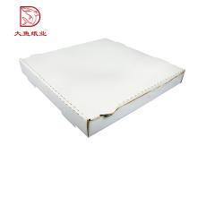 Boîte d'emballage personnalisée de pizza de papier imprimé par OEM d'usine à vendre
