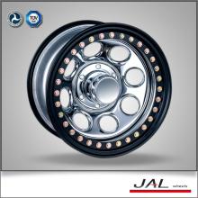 Rodas de carro 2015 4X4 reboque rebordo de aço 4x4 beadlock roda de aço