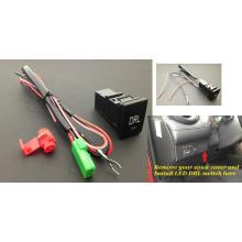 Interruptor da tecla da luz running do dia do diodo emissor de luz DRL do Scion de Toyota Lexus