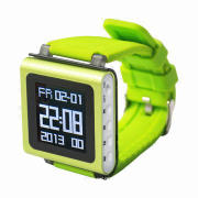 2014 Hot Selling 1.5-inch Screen Watch MP4 Player, Supports FM/Recorder/Clock Function