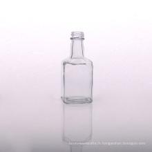 Flacon diffuseur en verre transparent haut