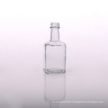 Tall Transparent Glass Diffuser Bottle