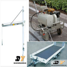 two component road line marking machine