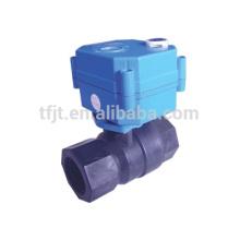 La poignée électrique de robinet à tournant sphérique de CWX-25 s'ajustent et le contrôle d'électricité pour le traitement de l'eau