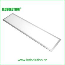 Shenzhen CE RoHS aprobó 1200X300 mm de aluminio ultra fino blanco puro 40W montaje en superficie panel de luz LED