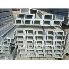 Galvanisé U Channel Steel avec le meilleur prix